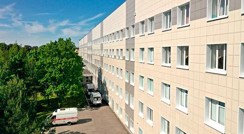 Реконструкция Корпуса Б городской больницы №40 в городе Сестрорецк