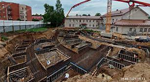 Реконструкция интерната №4 в Пушкине