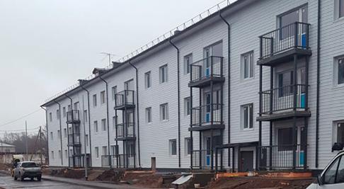 Жилые дома в г. Сортавала и пос. Рускеала