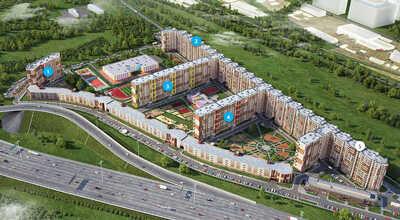 Жилой микрорайон (19 многоподъездных жилых домов) пр. Дальневосточный, 150000м2